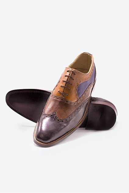 Footprint - Brown Formal Leather Brogue